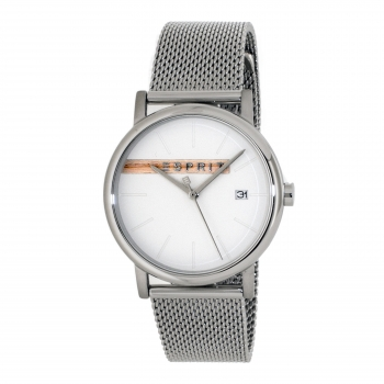 ESPRIT ES1G047M0045 Timber Silver Mesh