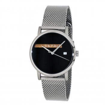 ESPRIT ES1G047M0055 Timber Black Silver