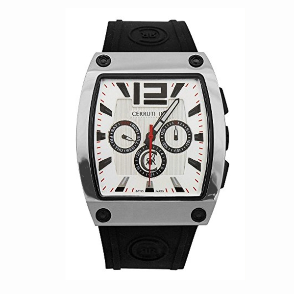 Armbanduhr 1881 Uhr Cerruti Silikon Herren Crd007e214h Multifunktion YmIb76yfgv