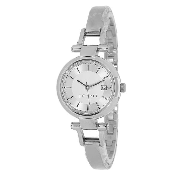 Feine Zu Esprit Uhr Details Silber Farbig Damen Spangenuhr Zoe Es107632004 Armbanduhr OPkXiZu